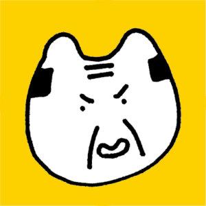 怒っている義父のアイコン画像